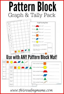 Pattern Block Graph and Tally Pack
