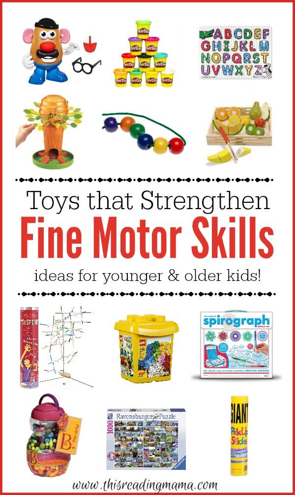Toys that Strengthen Fine Motor Skills