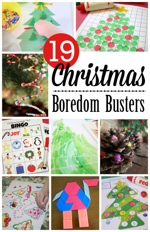 19 Christmas Break Boredom Busters - This Reading Mama