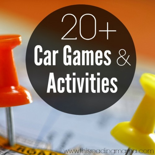 20+ Car Games and Activities 2