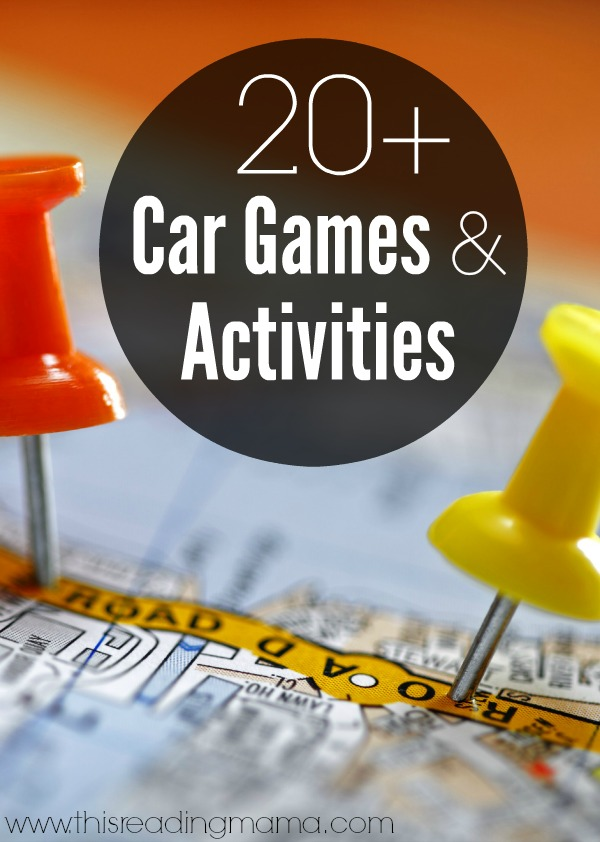 20+ Car Games and Activities - Sanity Savers and Fun Family Activities | This Reading Mama