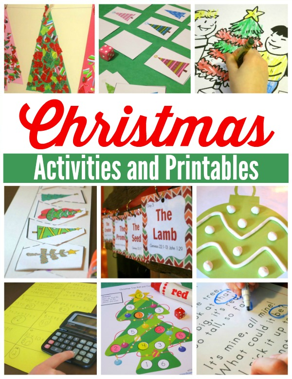 Christmas Activities and Printables - This Reading Mama