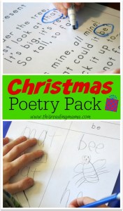 Christmas Poetry Pack {FREE} - This Reading Mama