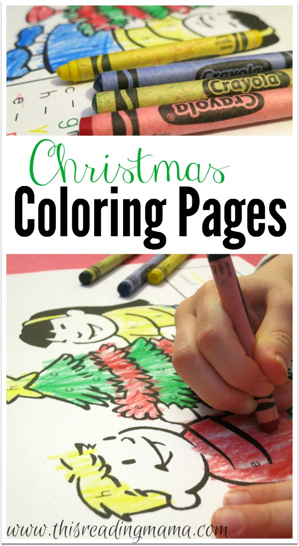 free printable coloring pages for christmas color by letter this reading mama