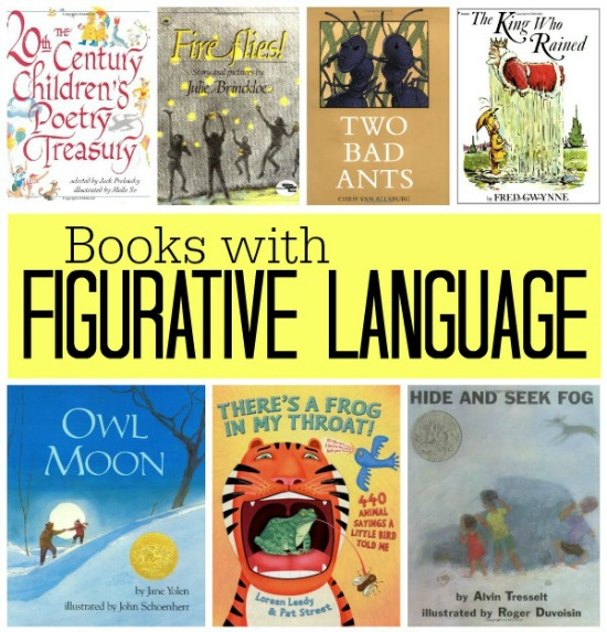 Books with Figurative Language - square