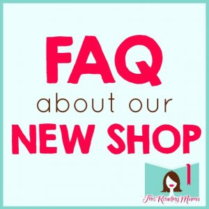FAQ About our New Shop