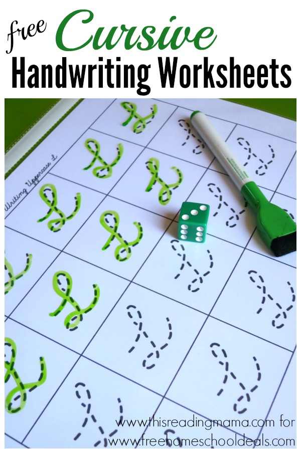 cursive writing practice book free download free cursive handwriting worksheets instant 24245 | FREE Cursive Handwriting Worksheets