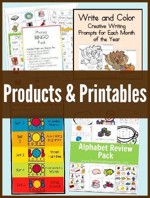 Products & Printables Sidebar