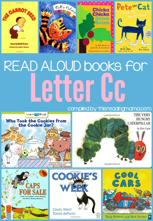 Letter C Books - Book List