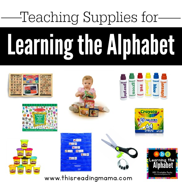 Hands-on Teaching Supplies for Learning the Alphabet | This Reading Mama