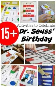 15+ Activities to Celebrate Dr. Seuss Birthday