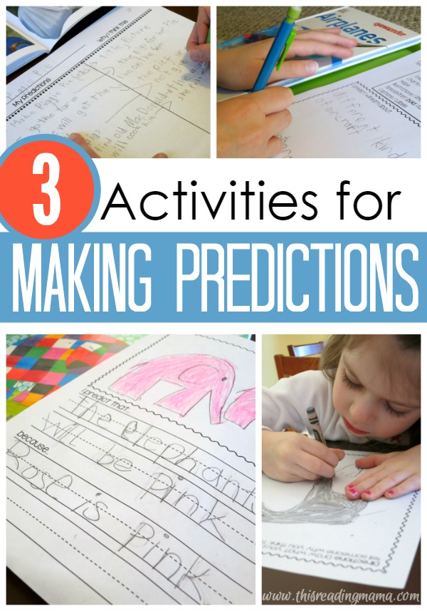 3 Activities for Making Predictions - This Reading Mama