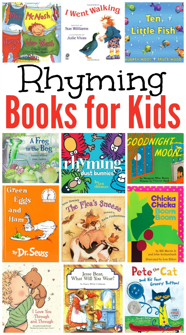 rhyming books for kids our favorites