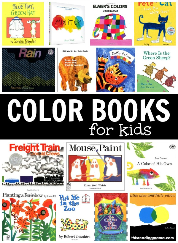 Color Books For Kids Learning About Colors