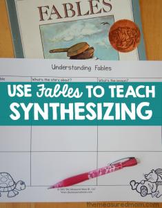 synthesizing lesson