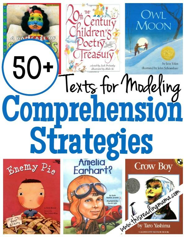 50 Books For Modeling Comprehension Strategies