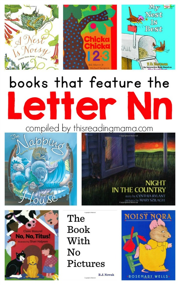 letter n show and tell learning the alphabet letter n printable pack this 22913 | Book List for the Letter N Books that Feature the Letter N This Reading Mama