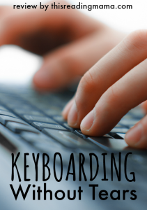 Keyboarding Without Tears Review