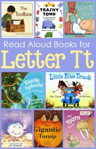 Read Aloud Books for the Letter T - This Reading Mama
