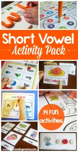 Short Vowel Activity Pack - This Reading Mama