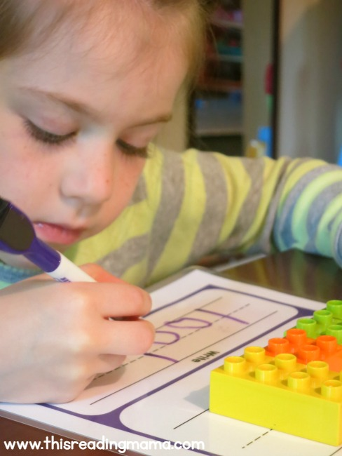 practice handwriting and sight words with these handwriting mats