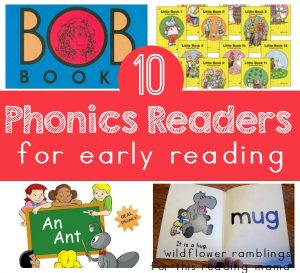 10 Phonics Readers for Early Reading - guest post of Wildflower Ramblings on This Reading Mama