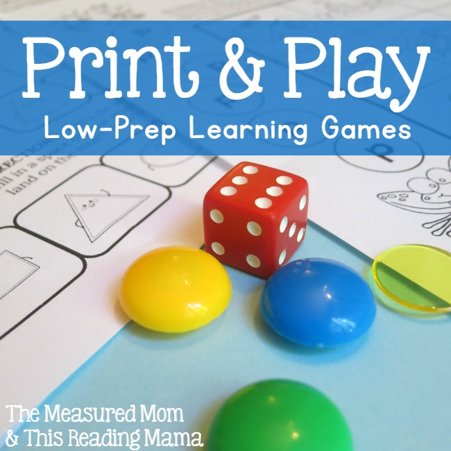 Print and Play - square