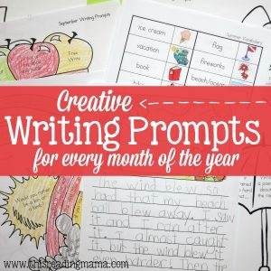 Write and Color: Creative Writing Prompts