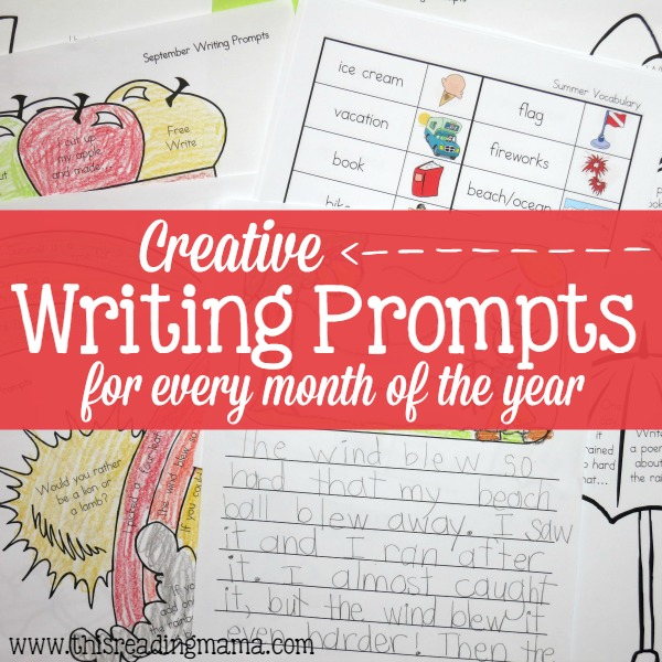 Creative Writing Prompts for Every Month of the Year