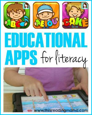 Educational Apps for Literacy - sidebar
