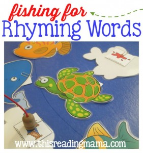 Fishing for Rhyming Words Activity - FREE Pack from This Reading Mama