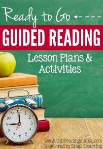 Ready to Go Guided Reading Lesson Plans and Activities - This Reading Mama