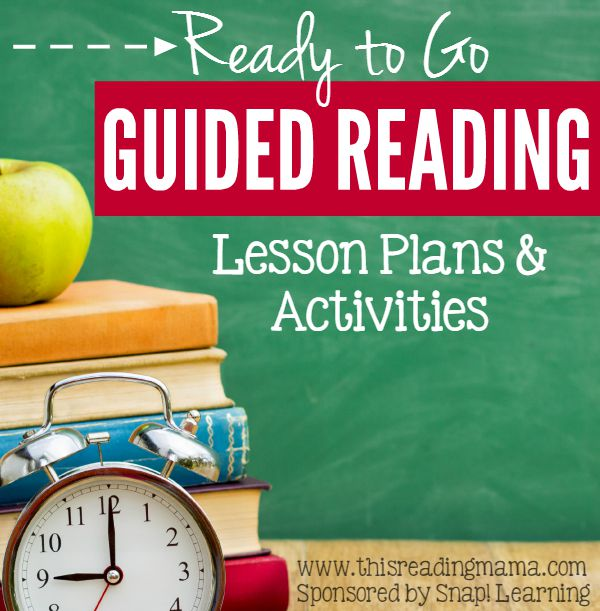 Ready To Go Guided Reading Lessons And Activities