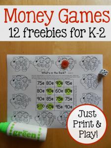 money games for K-2