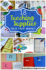 18 Teaching Supplies for a Tight Budget - This Reading Mama