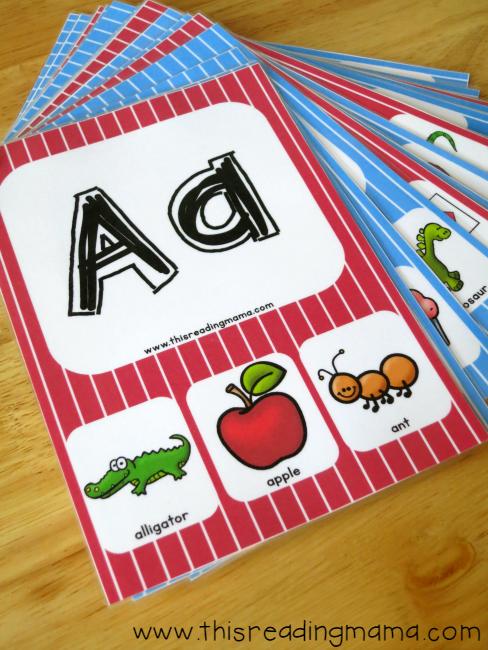 free alphabet phonics cards