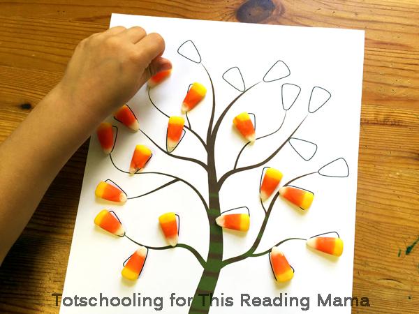 Candy Corn Preschool Activities and Printables