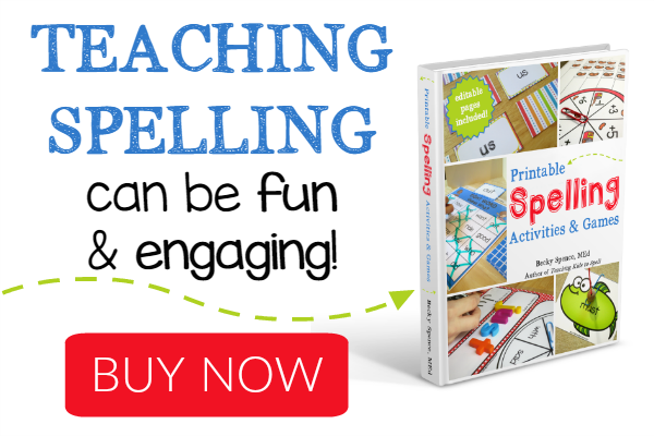 Teaching Spelling Can be Fun and Engaging