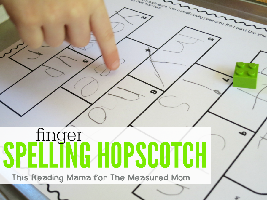 Free spelling game for kids spelling hopscotch the measured mom this free spelling game for kids can be used for any word list just print ibookread Download