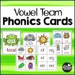 Vowel Team Phonics Cards