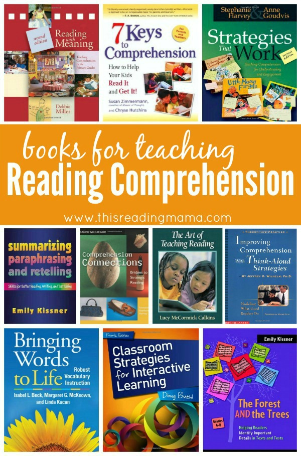 Books for Teaching Kids Reading Comprehension - Compiled by This Reading Mama