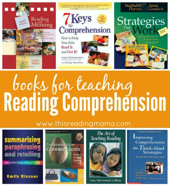 Books for Teaching Kids Reading Comprehension