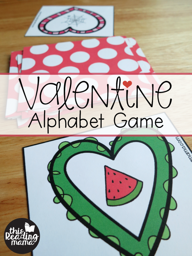 Valentine Alphabet Game for Tricky Letters {FREE} - This Reading Mama