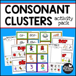ConsonantClustersActivityPack
