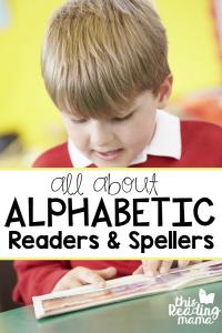 Alphabetic Readers & Spellers- Stage 2