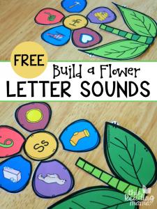 Build a Flower Letter Sounds Sort