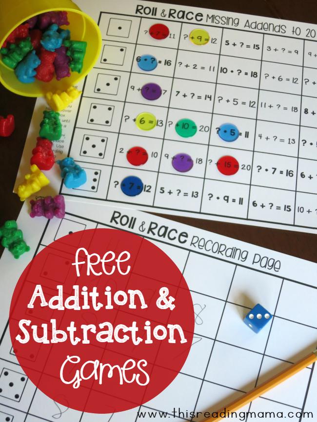 Free Online 1st Grade Subtraction Games | Education.com