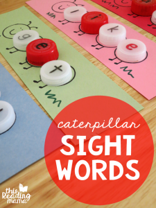 Caterpillar Sight Words – Eco-Friendly!