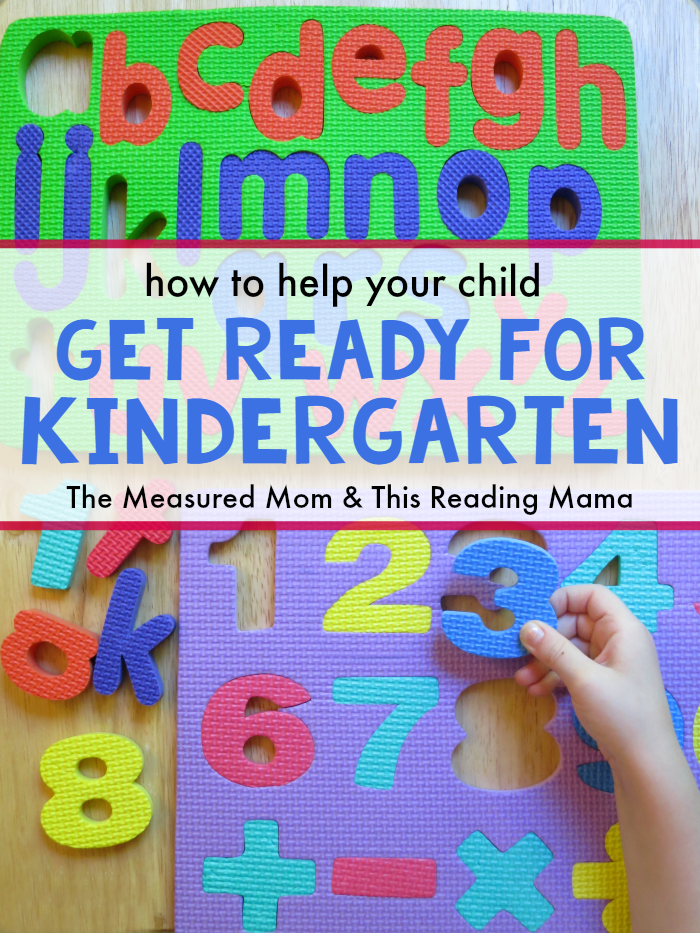 How to Help Your Child Get Ready for Kindergarten - The Measured Mom and This Reading Mama