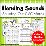 Blending Sounds Pack - Sounding Out CVC Words